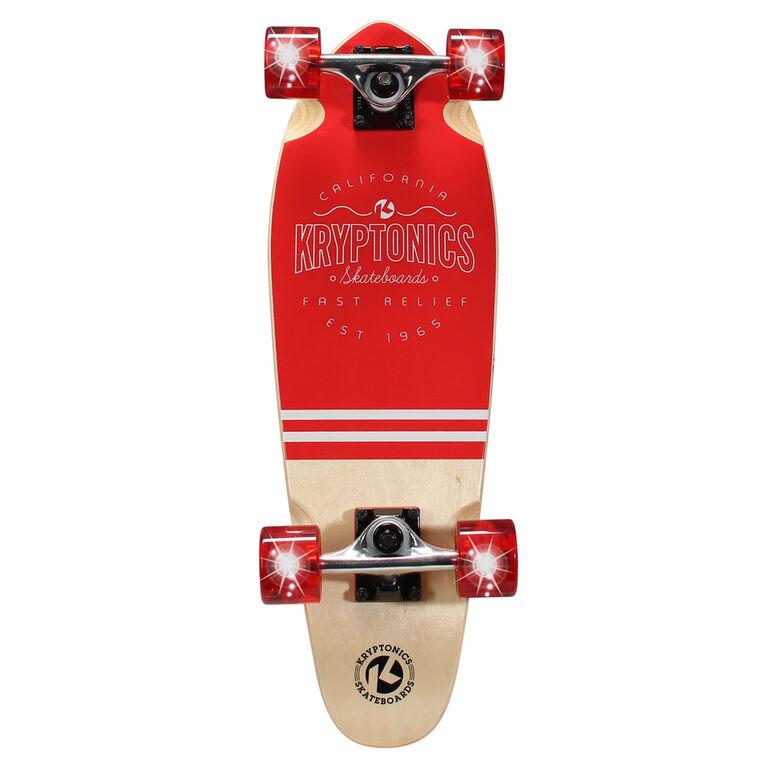 Kryptonics Mini Cruiser Complete Skateboard