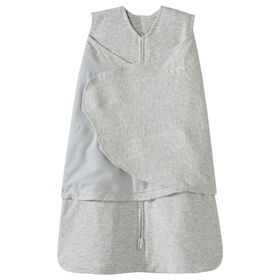 HALO SleepSack Swaddle - Heather Grey - Cotton - Newborn