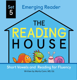 The Reading House Set 5: Short Vowels and Reading for Fluency - Édition anglaise