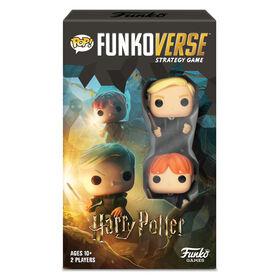 Jeu de stratégie Funkoverse : Pack de 2 personnages Harry Potter (2 joueurs) - Édition anglaise