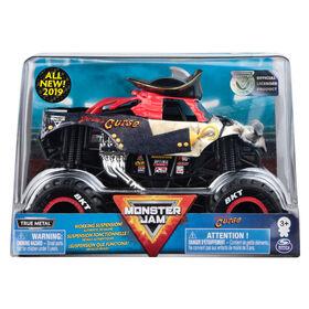 Monster Jam, Monster truck authentique Pirate's Curse en métal moulé à l'échelle 1:24.