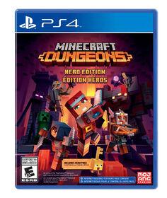 PlayStation4 - Minecraft Dungeons Hero Edition