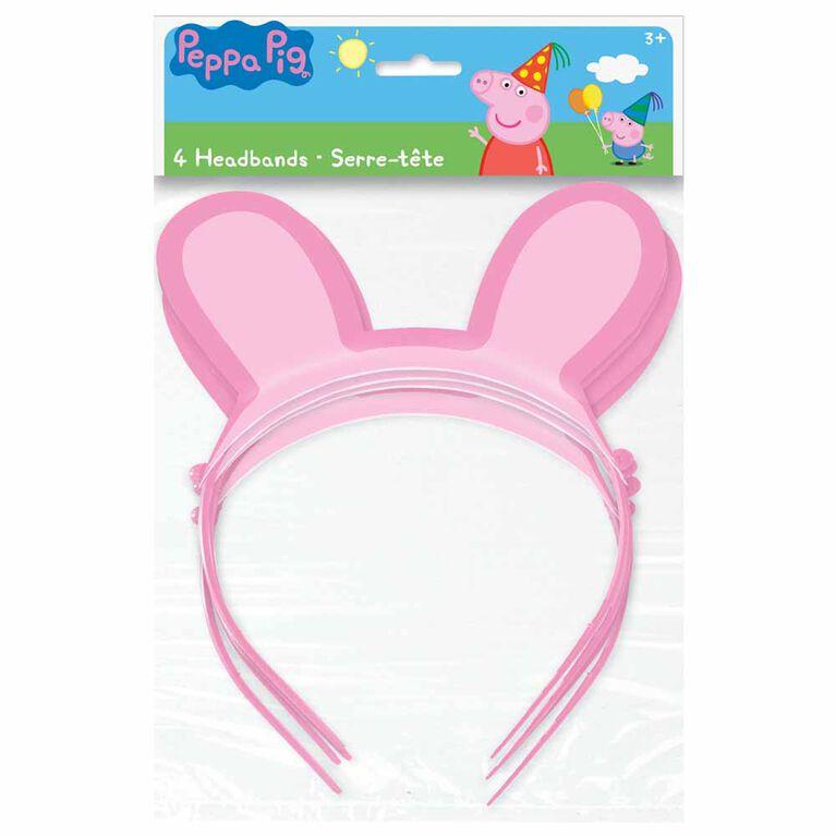 Peppa Pig Paper Headbands, 4