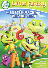 Leapfrog Letter Factory Adventures: The Letter Machine Rescue Team - English Edition