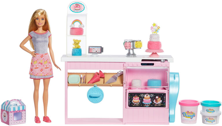 Barbie Cake Decorating Playset with Doll