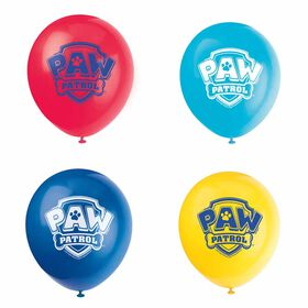 "Paw Patrol 12"" Latex Balloons, 8 pieces"