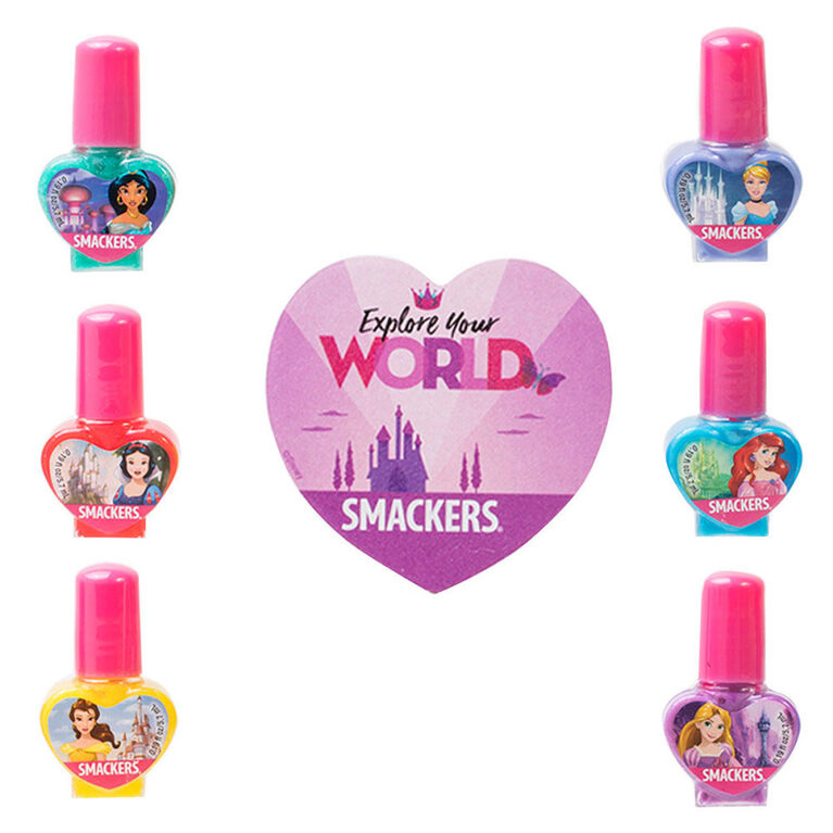 Smackers - Disney - Collection pour ongles de princesse