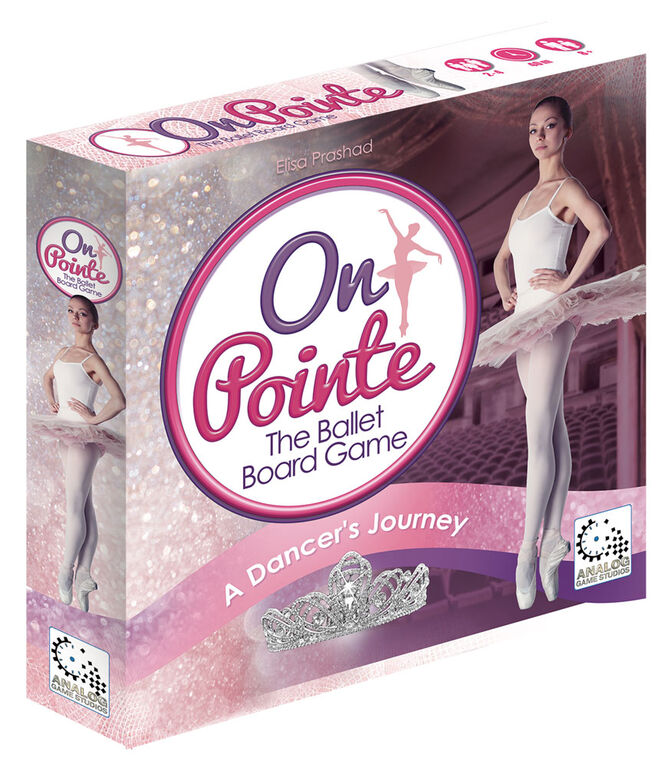 Analog Game Studios - On Pointe Board Game - English Edition