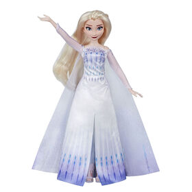 Disney Frozen Musical Adventure Elsa Singing Doll