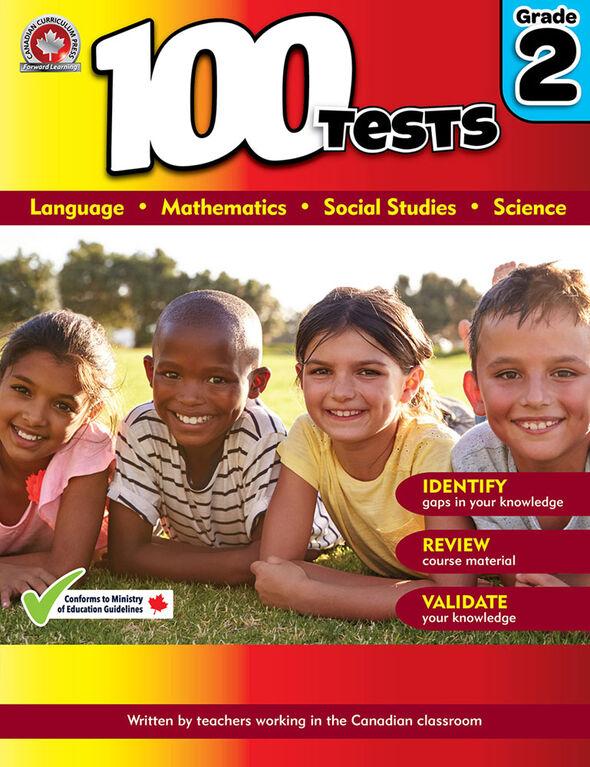 100 Tests Grade 2 - English Edition