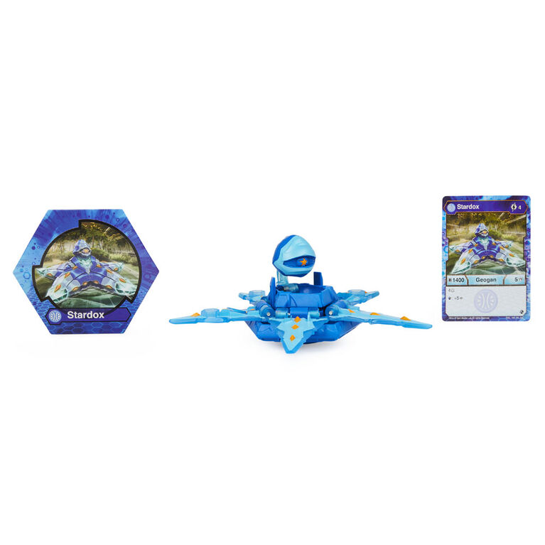Bakugan Geogan Deka, Stardox, Figurine transformable géante à collectionner