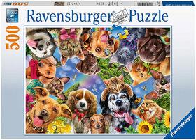 Ravensburger - Funny Animal Selfie Puzzle 500pc