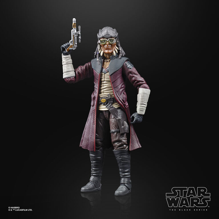 Star Wars The Black Series Hondo Ohnaka Toy 6-Inch-Scale Star Wars Galaxy's Edge Collectible Action Figure - R Exclusive