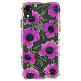 Case-Mate Wallpaper Case iPhone XR Pink Poppy