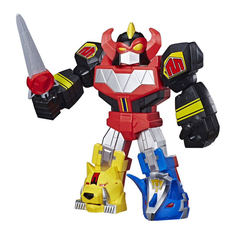 Playskool Heroes Mega Mighties Power Rangers Megazord Action Figure, 12-Inch Mighty Morphin