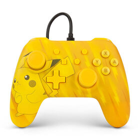 Nintendo Switch Wired Controller Static Pikachu