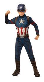 Captain America Costume - Medium 8-10