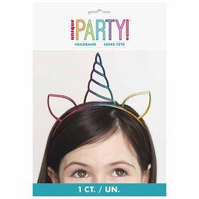 Rainbow Unicorn Party Headband