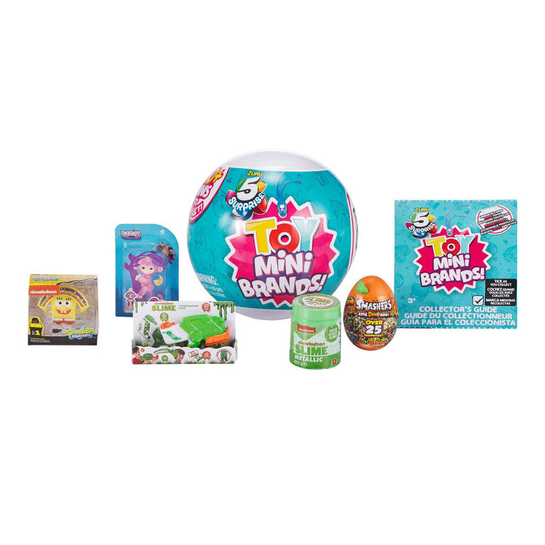 5 Surprise Toy Mini Brands Capsule Collectible Toy