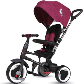 Tricycle Pliable Rito - Bordeaux