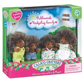 Calico Critters - Pickleweeds Hedgehog Family - English Edition