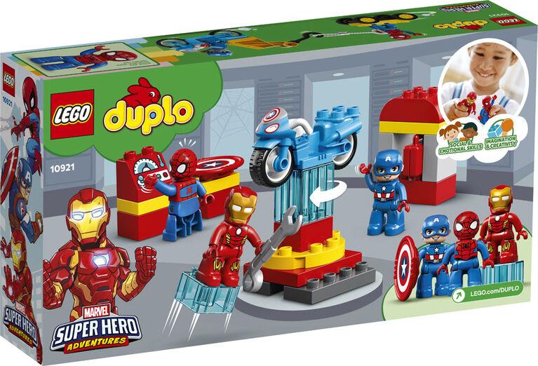 LEGO DUPLO Super Heroes Le labo des super-héros 10921