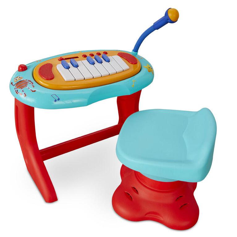 Centre de musique à accompagner pour clavier et piano Little Baby Bum avec microphone fonctionnel