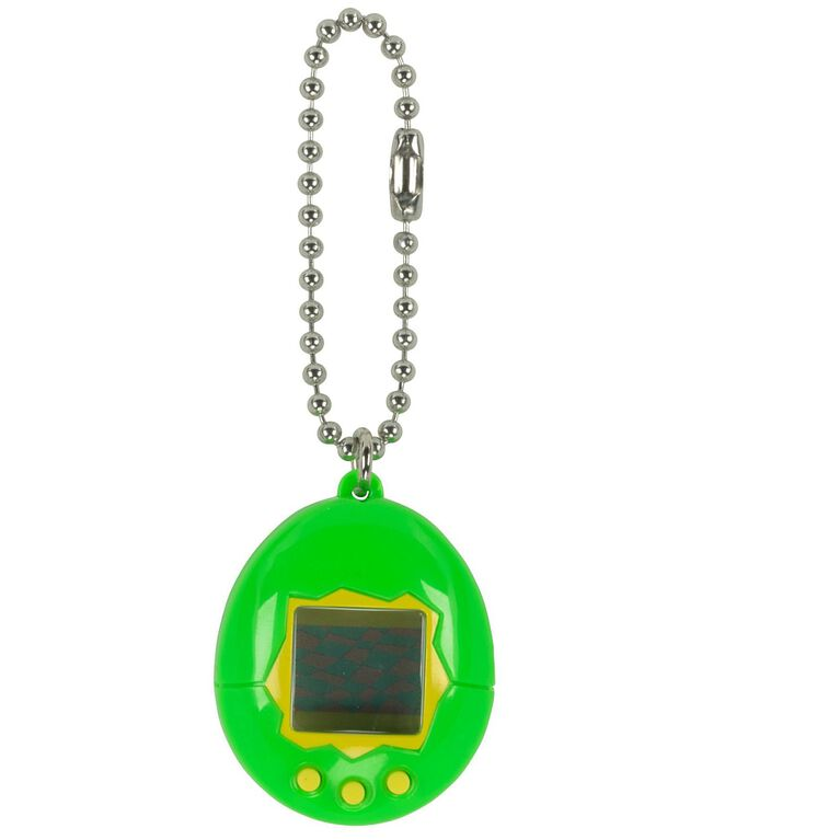 Tamagotchi - Bright Green with Yellow