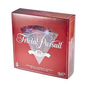 Jeu Trivial Pursuit édition Rubis 40e anniversaire.