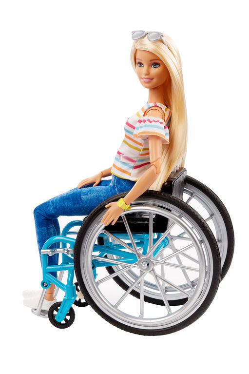 Barbie Fashionistas Doll #132 with Wheelchair and Ramp