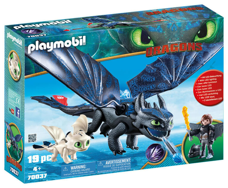 Playmobil - How To Train Your Dragon -  Hiccup and Toothless with Baby Dragon