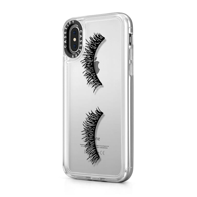 Casetify Grip Case iPhone XS Eyelash Wink