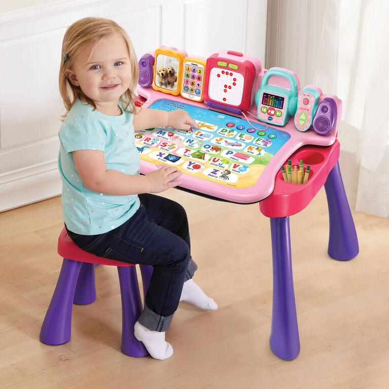 Vtech Explore and Write Activity Desk - Pink - Exclusive - English Edition