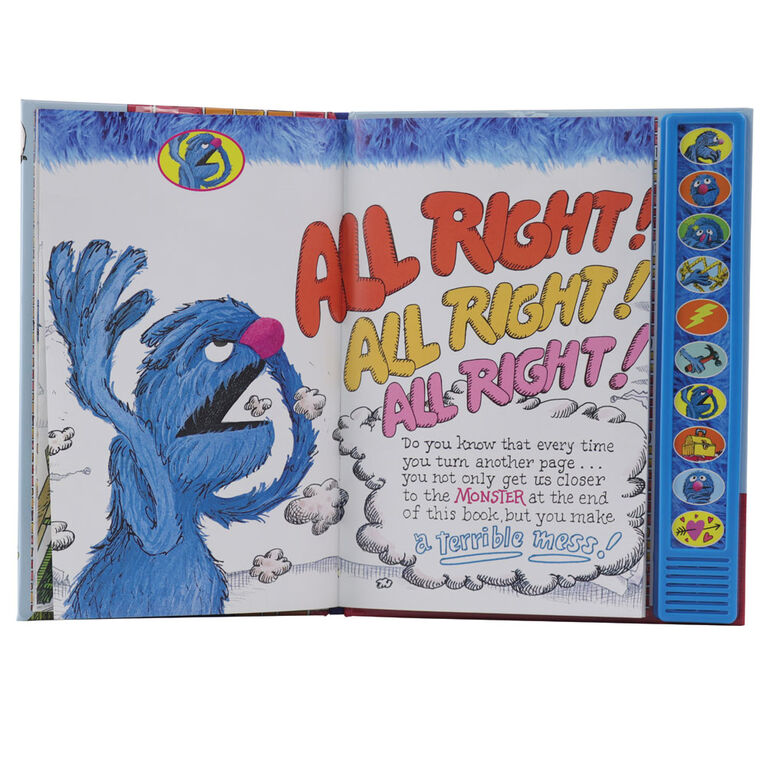 Sesame Street The Monster At The End Of This Sound Book With Grover - Édition anglaise