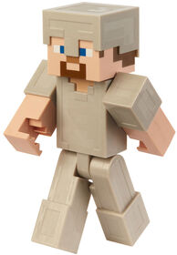 Minecraft - Figurine articulee - 30 cm (12po) - Steve Armure en fer