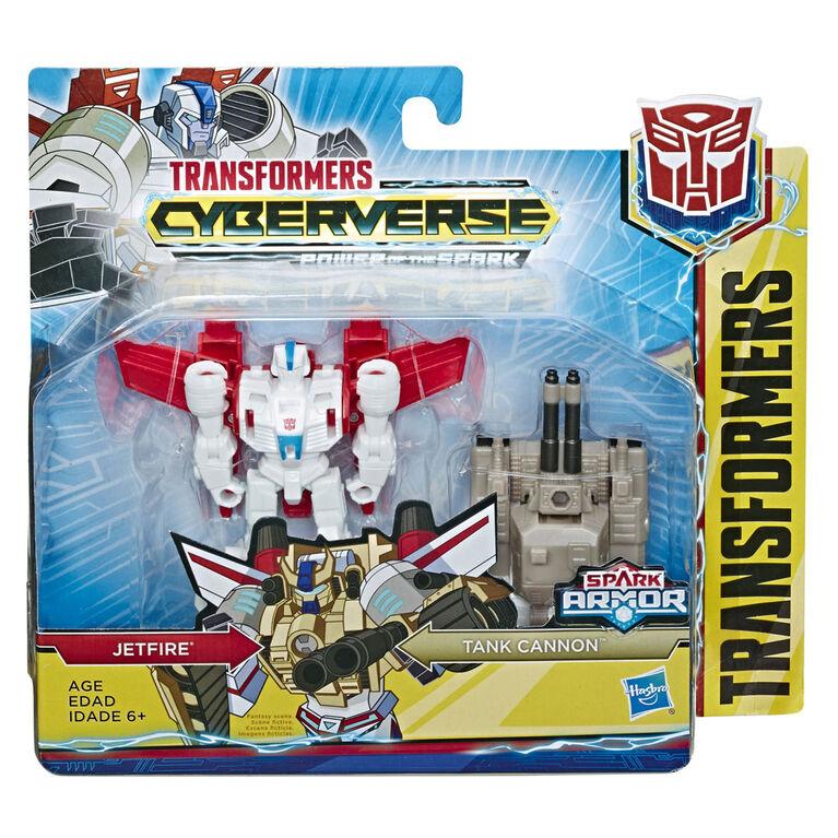 Transformers Cyberverse Spark Armor Jetfire Action Figure