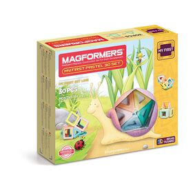 Magformers My First Pastel 30 Piece Set - English Edition