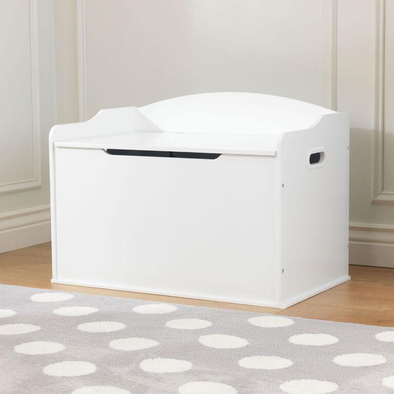 KidKraft - Austin Toy Box - White