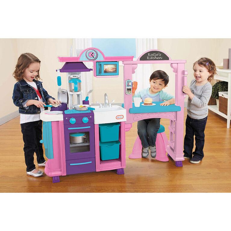 Little Tikes - Kitchen & Restaurant - Pink - R Exclusive