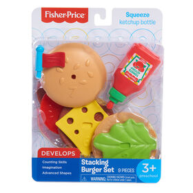 Fisher Price Stacking Burger Set