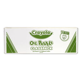 Crayola - Oil Pastels Classpack, Assorted, 336/Pack