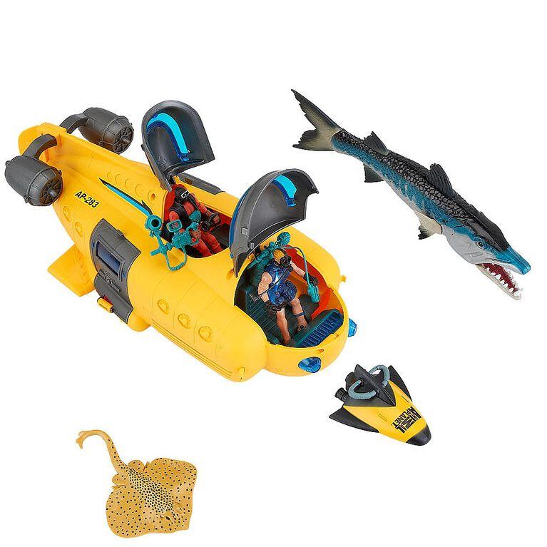 Animal Planet - Deep Sea Submarine Playset - R Exclusive