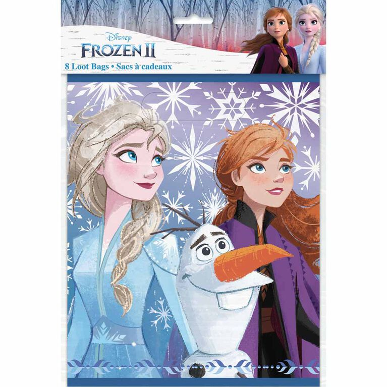 Frozen Loot Bags, 8 pieces