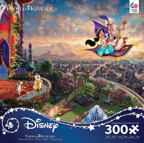 "Ceaco  ""Thomas Kinkade Disney - Aladdin"" casse-tête 300 pc"