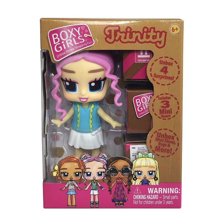 Boxy Girls Mini Trinity