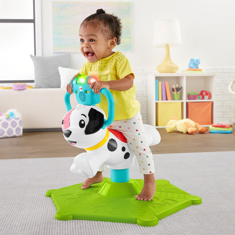 Fisher-Price Bounce and Spin Puppy  031677