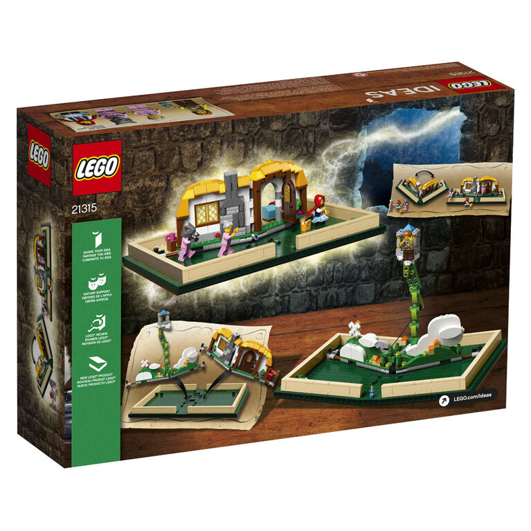 Lego Ideas Livre Pop Up 21315