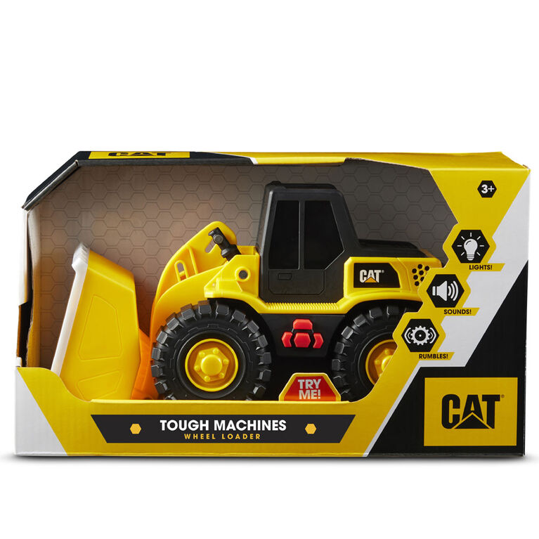 Cat Tough Machines Front Loader