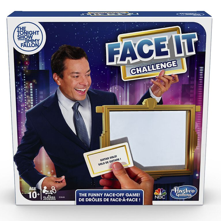 Jeu Défi Face à face de The Tonight Show Starring Jimmy Fallon