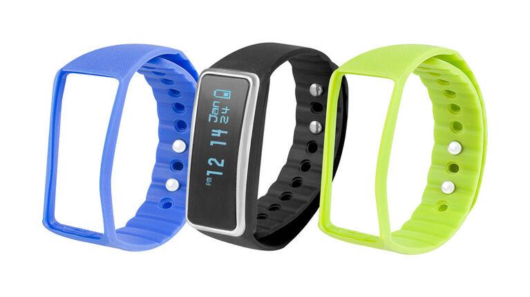Vivitar Bluetooth Activity Tracker - Black, Blue, Green